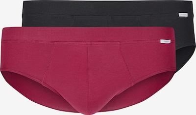 HUBER Slip 'Smart Comfort Brasil' in rot / schwarz, Produktansicht