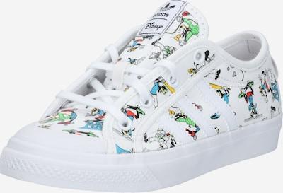 ADIDAS ORIGINALS Sneaker 'NIZZA' in mischfarben / weiß, Produktansicht