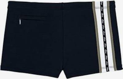 s.Oliver Boxer-Badehose in schwarz, Produktansicht