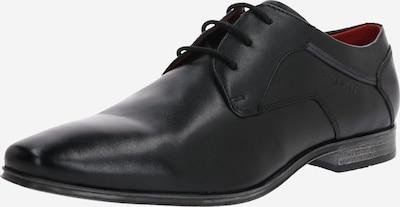 bugatti Chaussure à lacets 'Morino' en noir, Vue avec produit