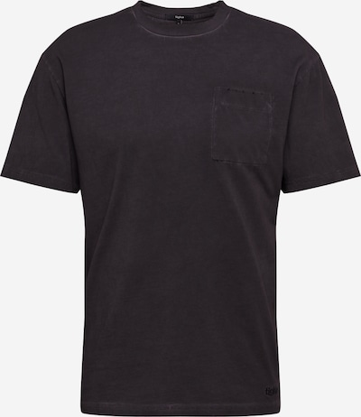 tigha Shirt 'Alessio' in schwarz: Frontalansicht