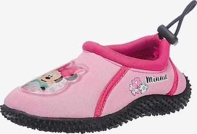 Disney Minnie Mouse Badeschuhe in rosa / dunkelpink: Frontalansicht
