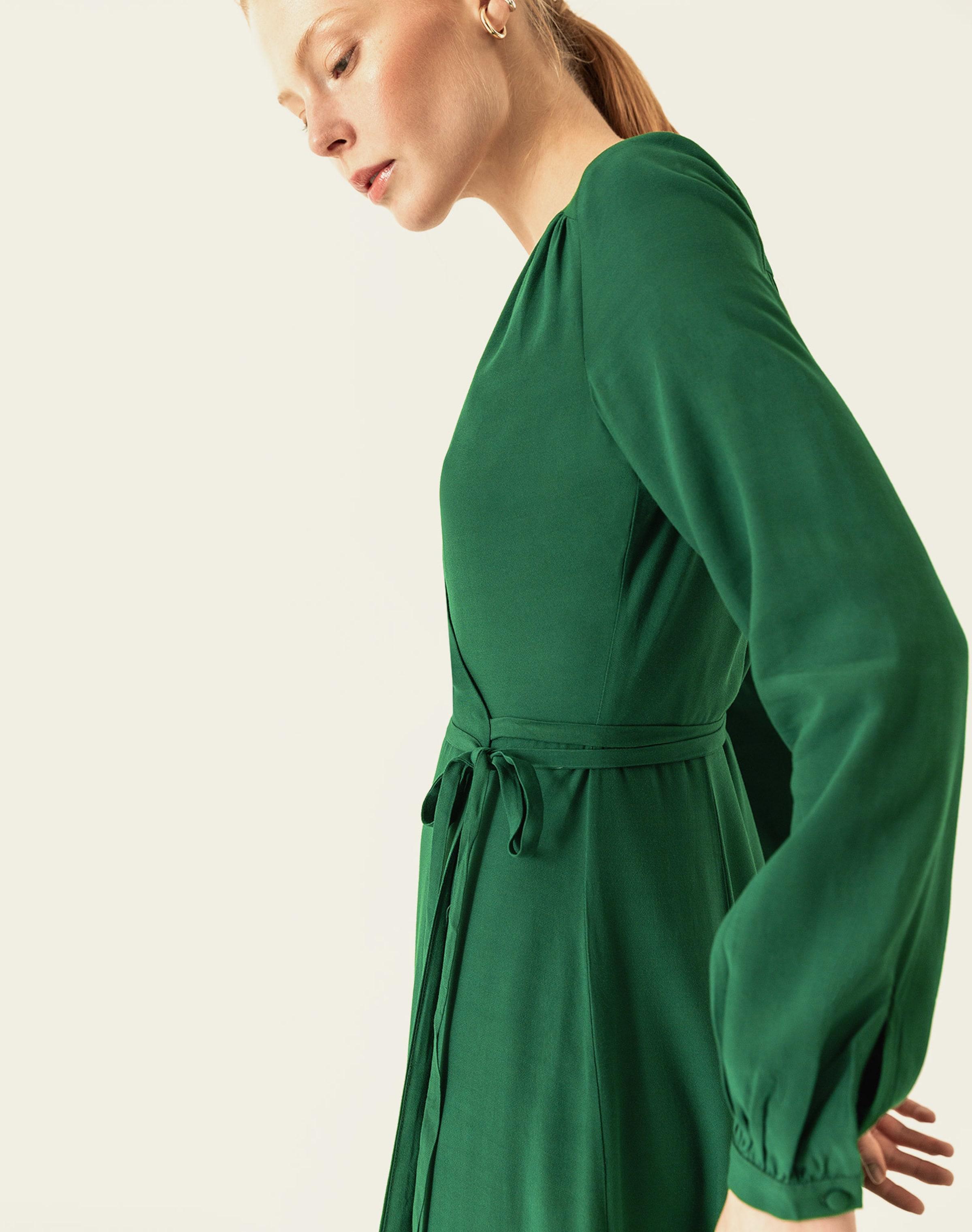 Oak Dress In Grün Ivyamp; QsCxhrdt