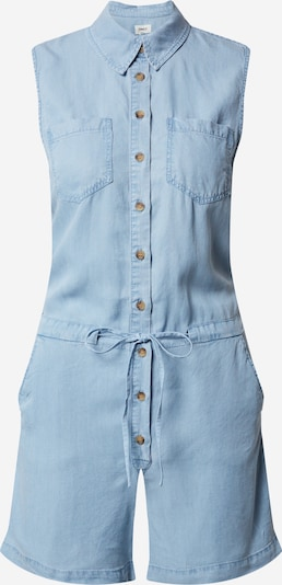 ONLY Jumpsuit 'ONLMILEN SL DNM PLAYSUIT' in de kleur Blauw denim, Productweergave