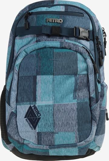 NITRO Rucksack 'Chase' in royalblau / hellblau / dunkelblau / schwarz, Produktansicht