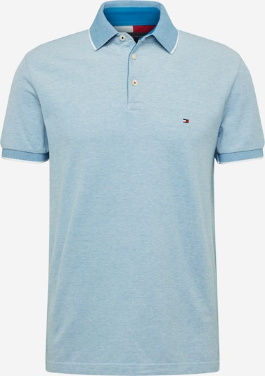 TOMMY HILFIGER Poloshirt in blau / weiß, Produktansicht