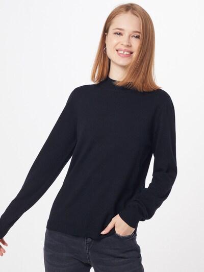 OBJECT Pullover  'THESS' in schwarz, Modelansicht