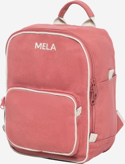 MELAWEAR Rucksack 'MELA II Mini ' in beige / rosa / rot, Produktansicht