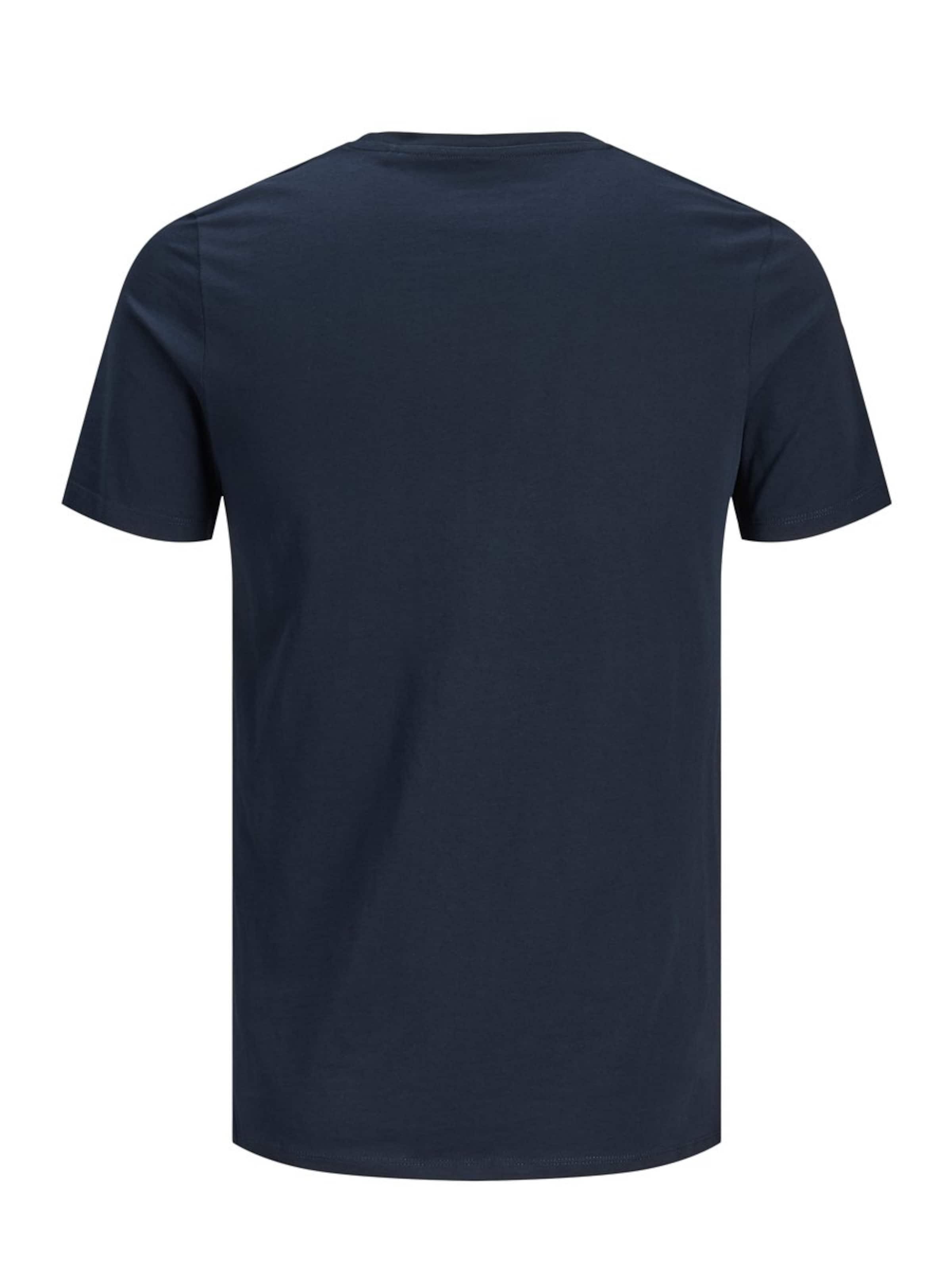 Jackamp; Jones shirt T NachtblauWeiß In Ib6ym7fYgv