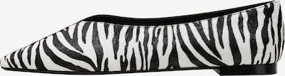VIOLETA by Mango Ballerina 'Shoes peru' in schwarz / weiß, Produktansicht