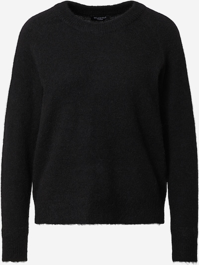 SELECTED FEMME Trui 'Lulu' in de kleur Zwart, Productweergave