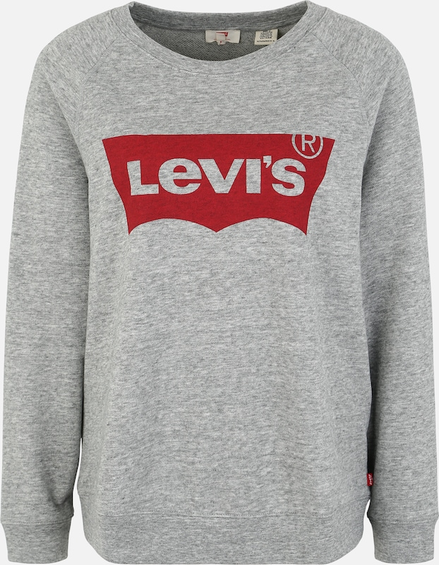 Levi's® Plus Mikina 'RELAXED GRAPHIC' - šedý melír, Produkt