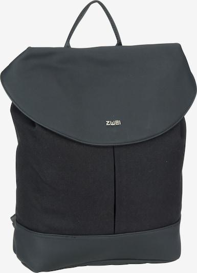 ZWEI Rucksack 'Paula PAR120' in anthrazit / schwarz, Produktansicht