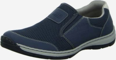 RIEKER Slipper in dunkelblau / weiß, Produktansicht