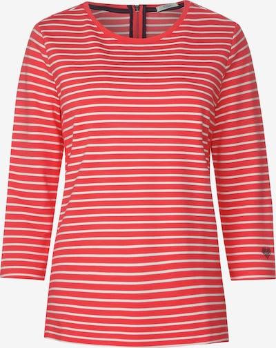 CECIL Sweatshirt mit Streifen in orange / weiß, Produktansicht