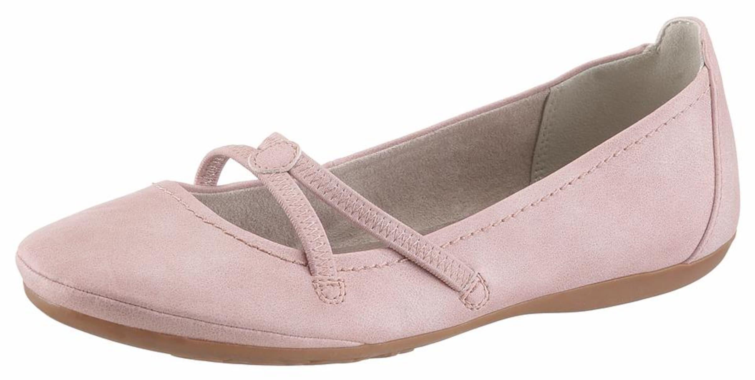 Haltbare Mode billige Schuhe TAMARIS | Riemchenballerina Schuhe Gut getragene Schuhe