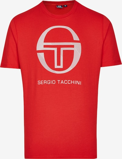 Sergio Tacchini T-Shirt 'New Elbow' in rot / weiß, Produktansicht