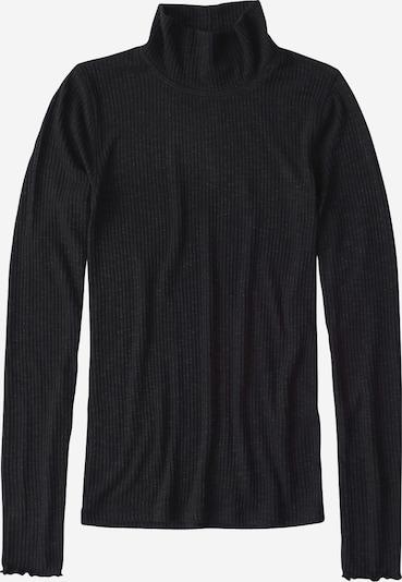 Abercrombie & Fitch Pullover 'XM19-LS SLIM RIB TURTLENECK 4CC' in schwarz, Produktansicht