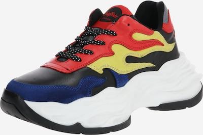 BUFFALO Sneaker 'EYZA P' in gelb / rot / schwarz, Produktansicht