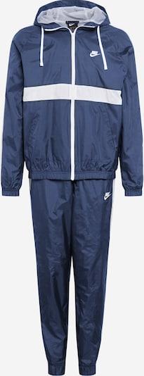 Nike Sportswear Jogging komplet 'NSW' u tamno plava / bijela, Pregled proizvoda