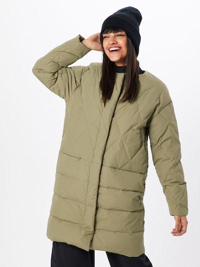 NÜMPH Manteau d'hiver 'Leandra' en vert, Vue avec modèle