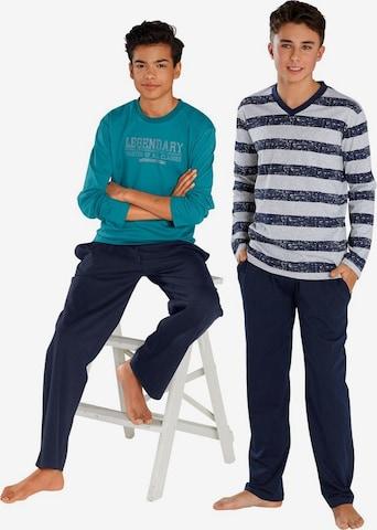 LE JOGGER Pyjama, lang (2 Stck.) in Mischfarben