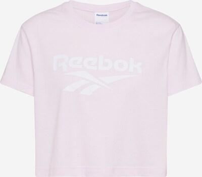 Reebok Classic Shirt in de kleur Pastelroze / Wit, Productweergave
