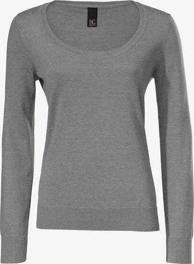 heine Rundhals-Pullover in graumeliert, Produktansicht