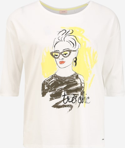TRIANGLE Shirt in weiß, Produktansicht