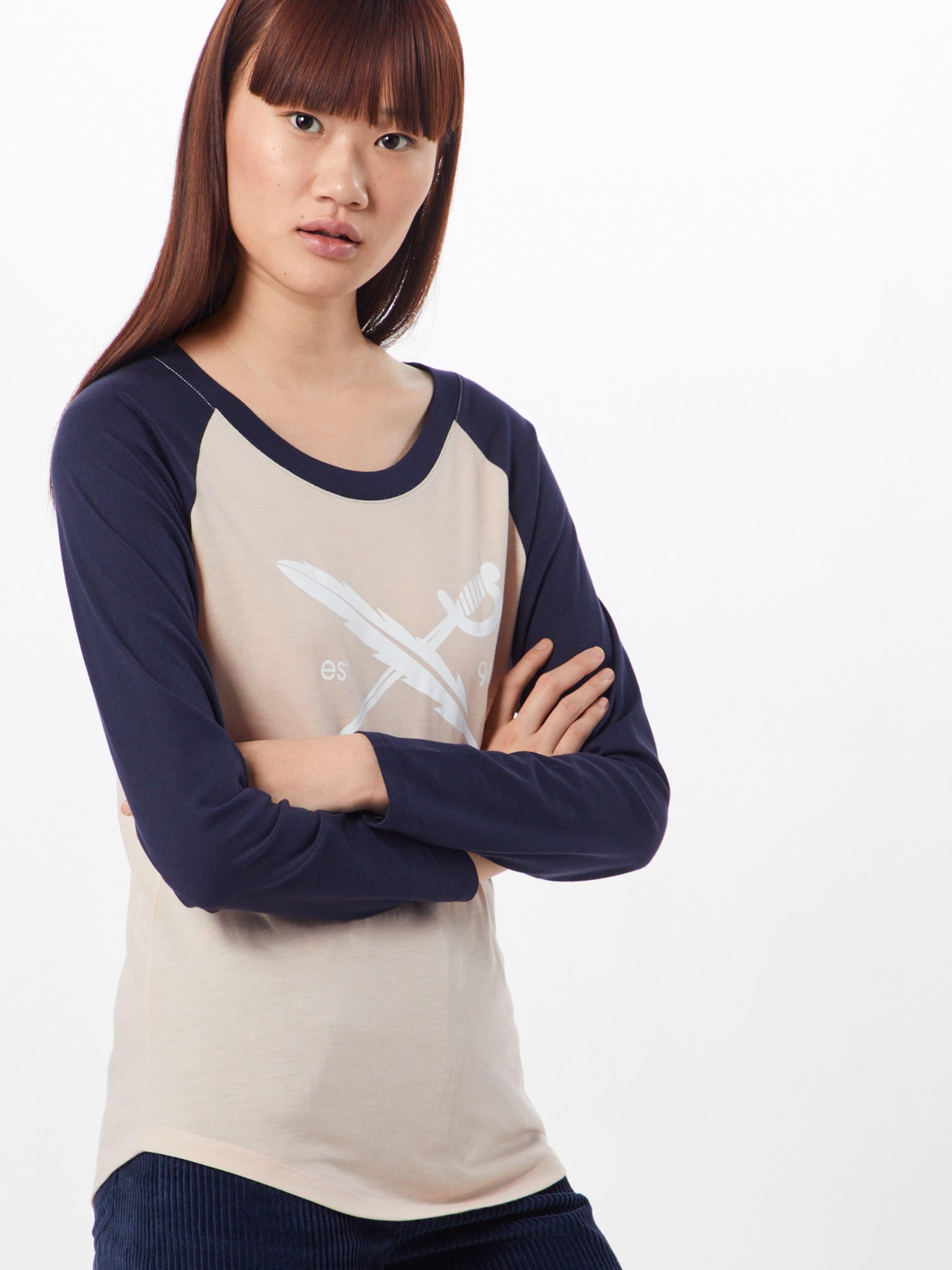MarineRosé Iriedaily shirt Flag' En T Bleu 'g kn0OX8wP