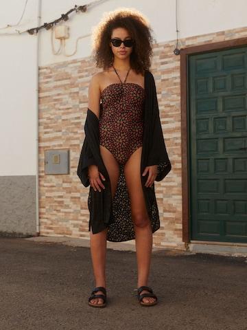 Rose Swimwear Look