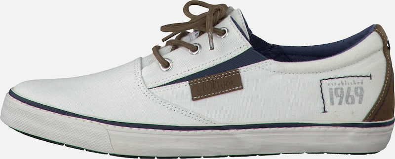 Chaussures Faible Étiquette Rouge Gris Clair S.oliver Gxt38sY