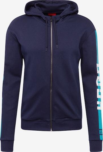 HUGO Sweatvest 'Dalz' in de kleur Blauw, Productweergave