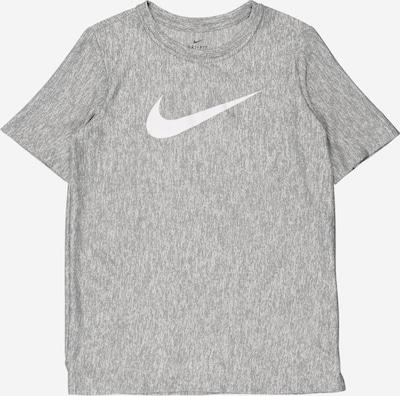 NIKE Funkční tričko - šedá / bílá, Produkt
