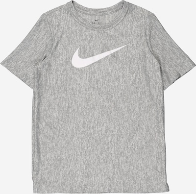 NIKE Shirt in grau / weiß, Produktansicht