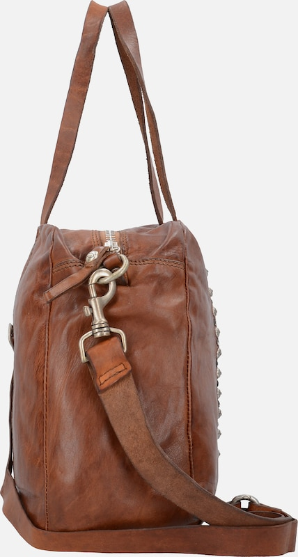 Campomaggi Traditional Damiana Handtasche Leder 38 cm
