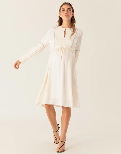 Palaidinės tipo suknelė iš IVY & OAK , spalva - perlų balta: Vaizdas iš priekio