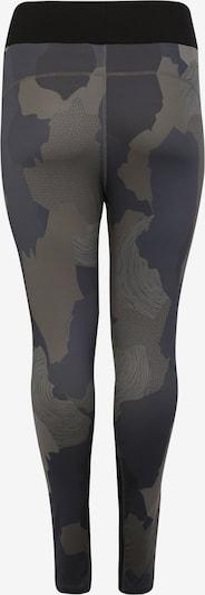 Sportinės kelnės 'aharmony' iš Active by Zizzi , spalva - žalia: Vaizdas iš galinės pusės