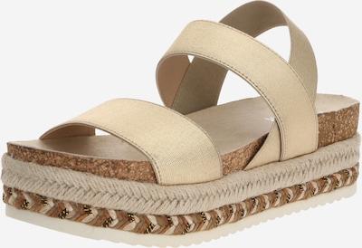 BULLBOXER Sandale in beige / gold, Produktansicht