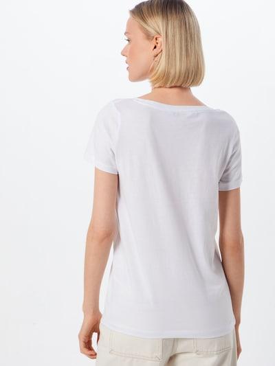 Marškinėliai 'KITA' iš ONLY , spalva - balta: Vaizdas iš galinės pusės