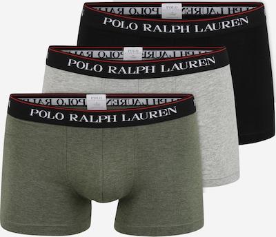 POLO RALPH LAUREN Shorts in grau / grün / schwarz, Produktansicht