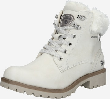 Dockers by Gerli Lace-up bootie in White