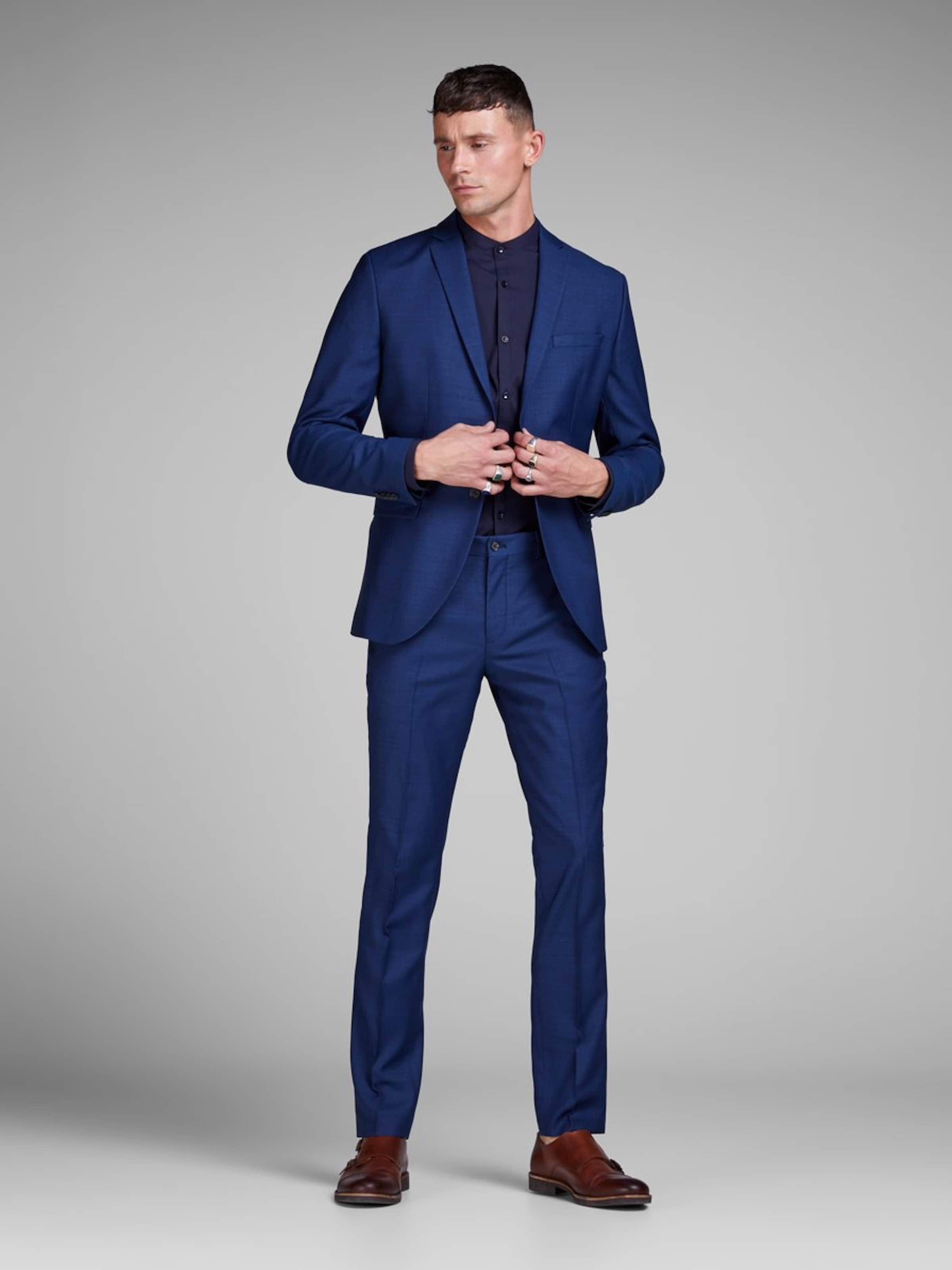 En Pantalon Jackamp; Bleu À Plis Jones 15T3lKcuFJ