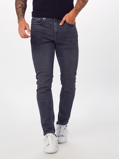 Calvin Klein Jeans Jeansy '016 SKINNY' w kolorze szary denimm, Podgląd na modelu(-ce)