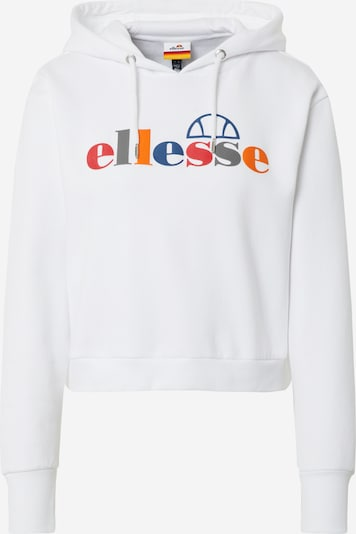 ELLESSE Sweatshirt 'Gaetana' in de kleur Gemengde kleuren / Wit, Productweergave