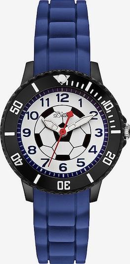 s.Oliver Uhr in dunkelblau / schwarz / weiß, Produktansicht