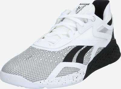 REEBOK Sportschoen 'Nano X' in de kleur Zwart / Wit, Productweergave
