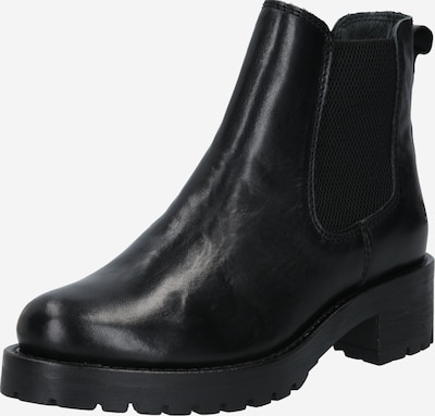 Apple of Eden Chelsea Boots 'MONIKA' en noir: Vue de face