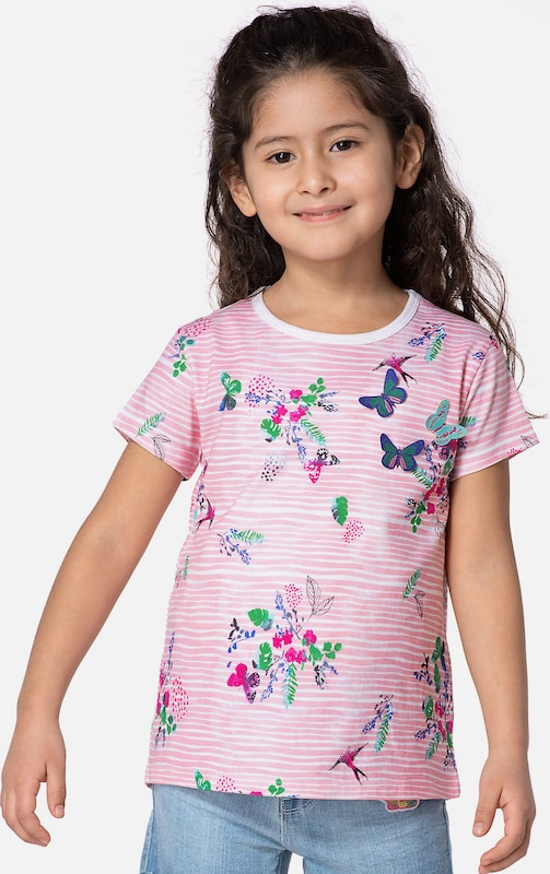 myToys-COLLECTION T-Shirt in rosa: Frontalansicht