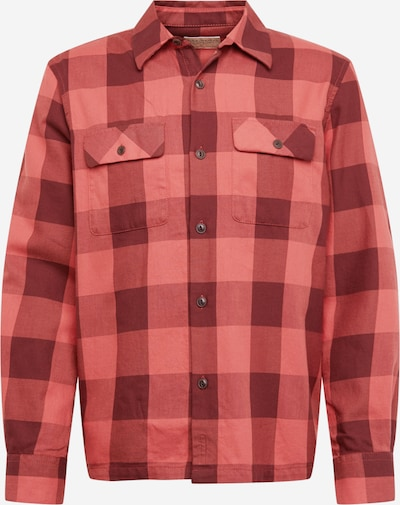 Nudie Jeans Co Hemd 'Sten Block Check' in rot / schwarz, Produktansicht
